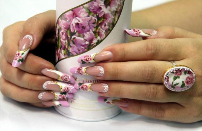 Дизайн ногтей последней тенденции